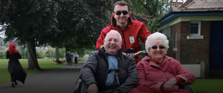 Crowdfunder Stories | Cycling Without Age