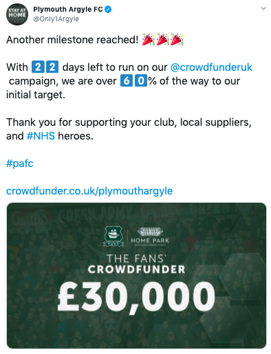 Plymouth AFC Twitter