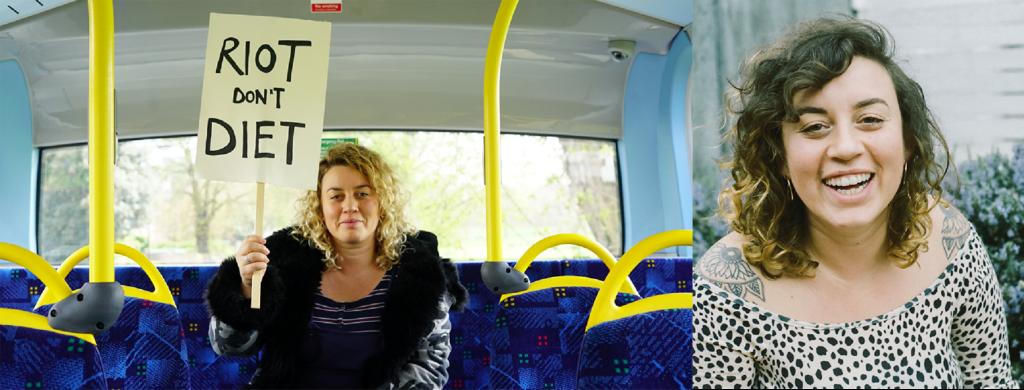Anti Diet Riot Bus