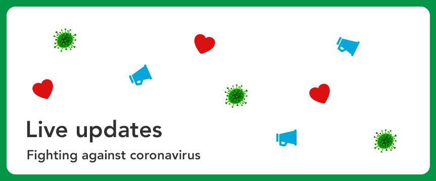 Live updates: Fighting against coronavirus at Crowdfunder