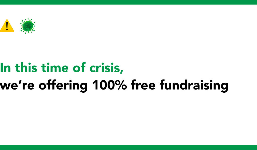 COVID-19: 100% fee free fundraising on Crowdfunder