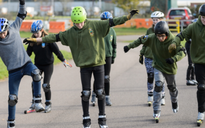 Keeping active with Sport England and Crowdfunder