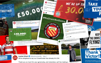 More than just giving: How the football crowd are fighting back