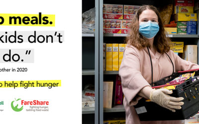 Anti-poverty campaign raises over £1 Million to help fight hunger in the UK