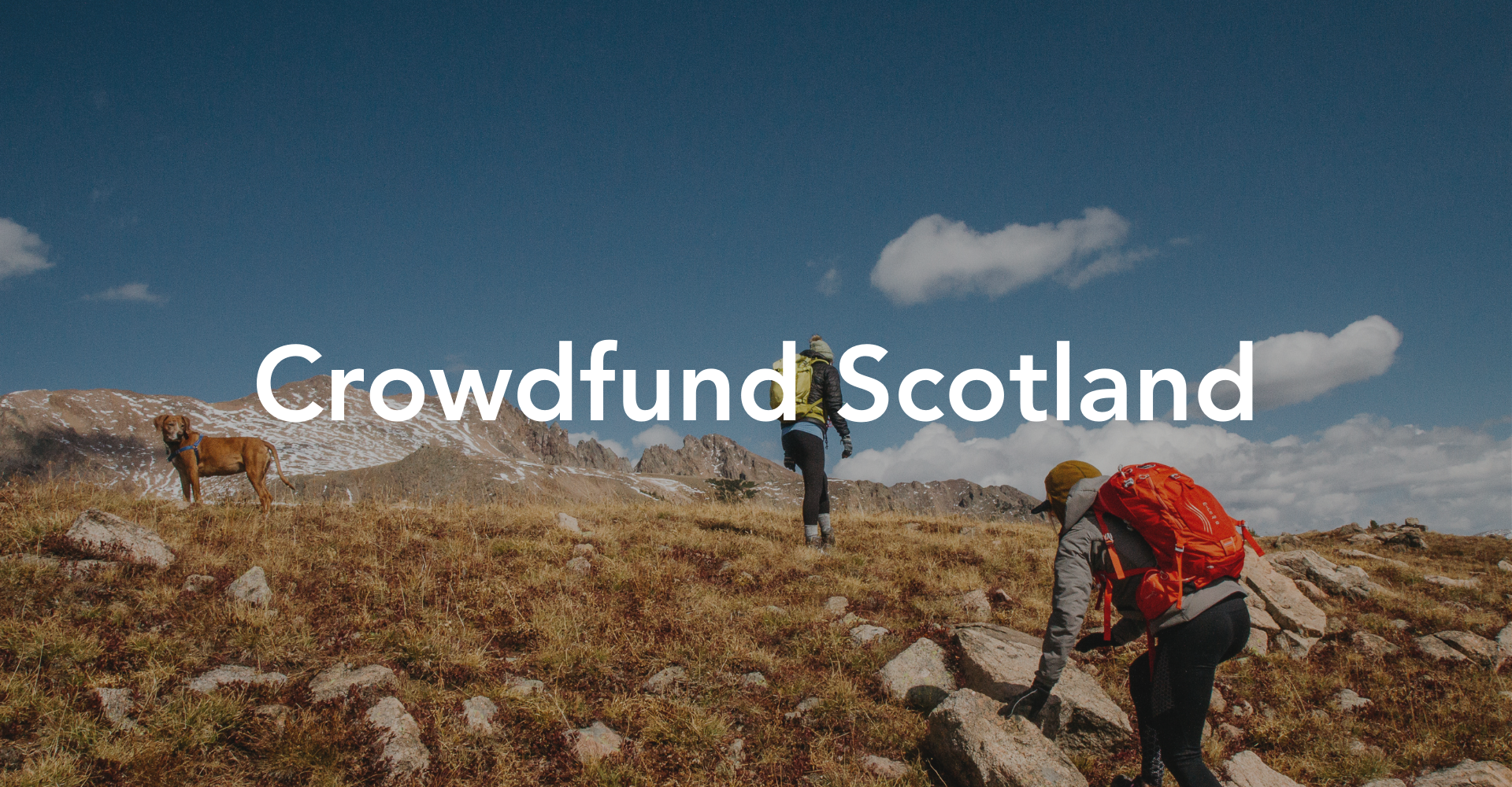 Crowdfund Scotland – back by popular demand!