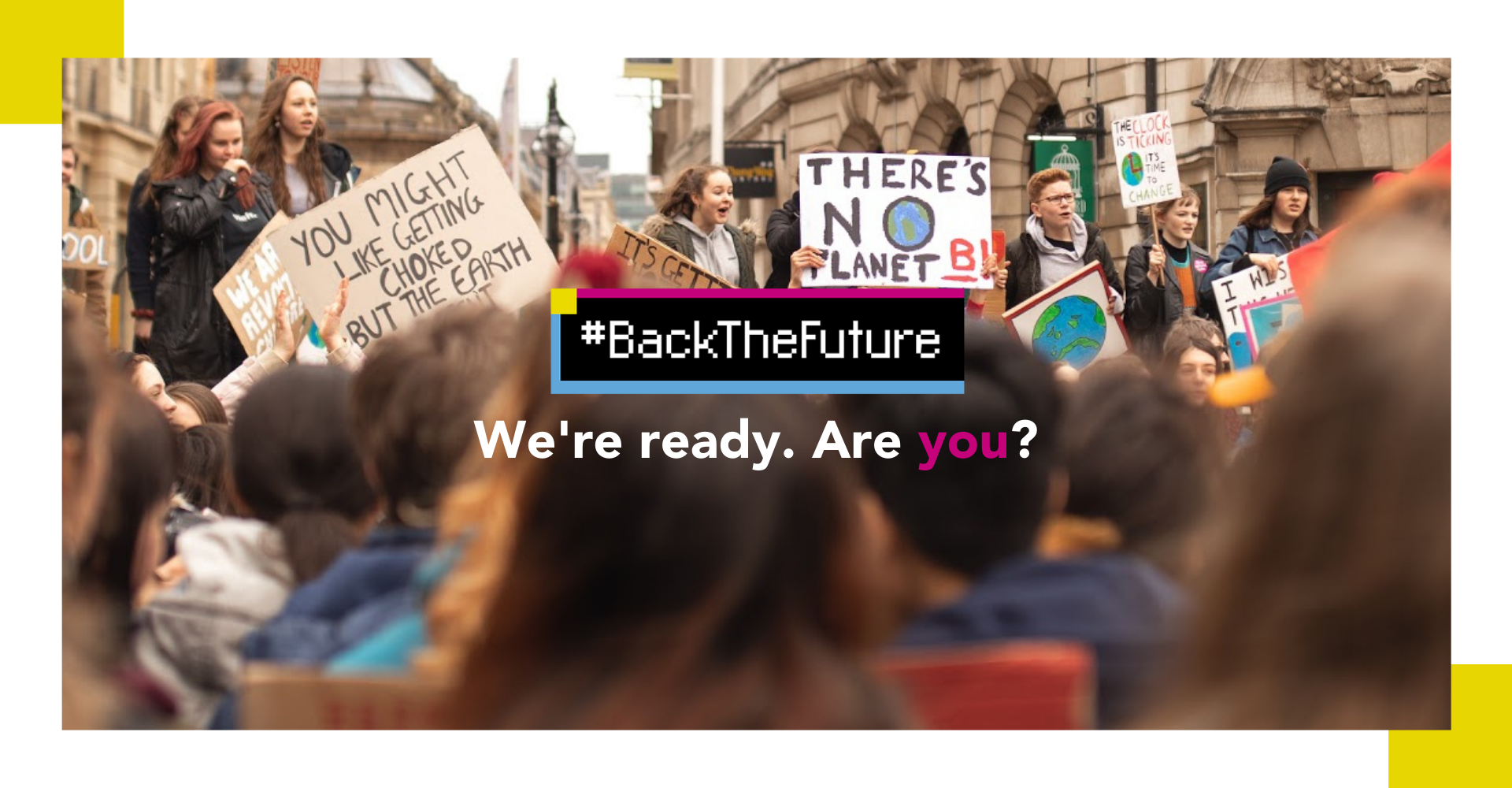 We're ready to #BackTheFuture. Are you?